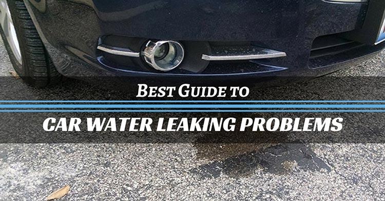 Car Leaking Water - The Car Database