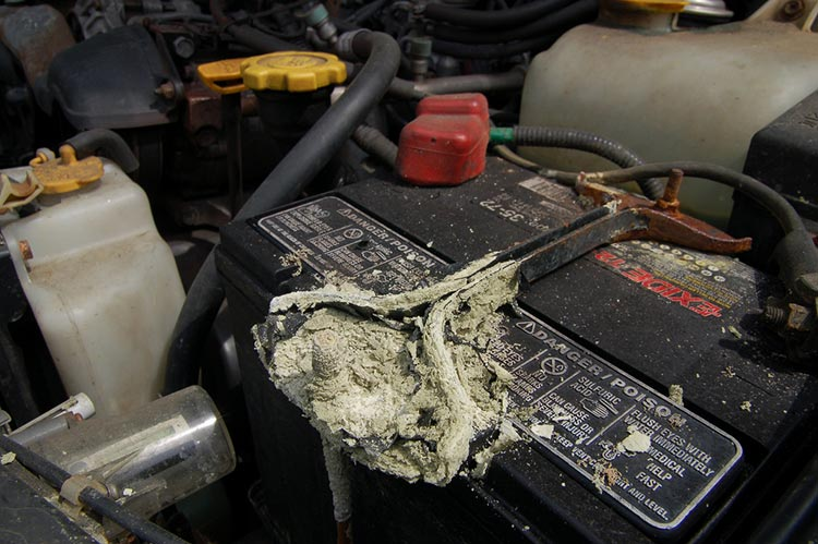 How To Clean Car Battery Terminal Corrosion
