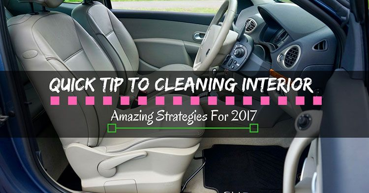 how to clean your car in the winter interior