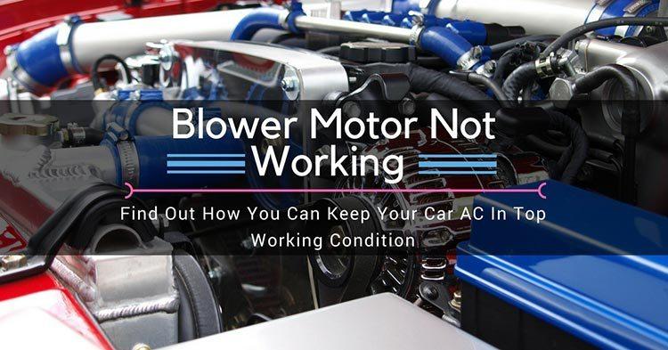 Blower Motor Not Working: ...